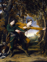 Archers. Colonel Acland and diplomat Lord Sydney
