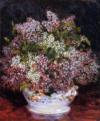 Pierre Auguste Renoir. A bouquet of flowers