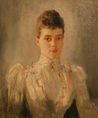 Portrait of Grand Duchess Xenia Alexandrovna