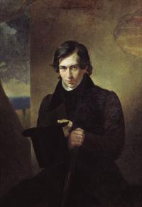 A portrait of the writer Nestor Vasilievich Kukolnik