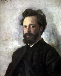 Portrait Of Sergei Chokolov P.