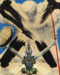 "Atomic Era (Illustration for the novel ""Don Quixote"")"