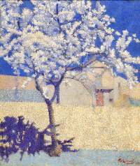 Максимилиан Люс. Цветущее дерево