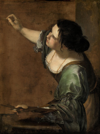 Автопортрет в виде аллегории живописи
