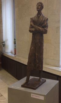 Игорь Северянин, бронза, 2013