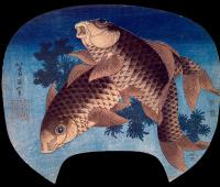 Кацусика Хокусай. Рыбы