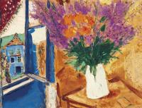 Марк Захарович Шагал. Цветы у окна
