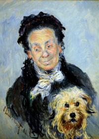 Portrait Of Ugenie Graff (Madame Paul)