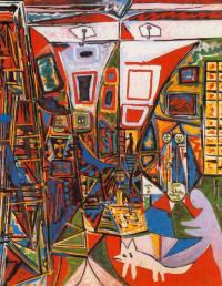 Пабло Пикассо. Менины. Интерпретация №24