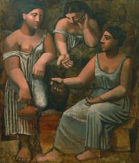 Три женщины у источника