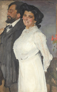 Portrait of Oscar and Rose Gruzenberg