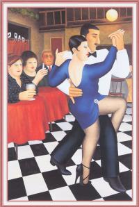 Tango in a bar
