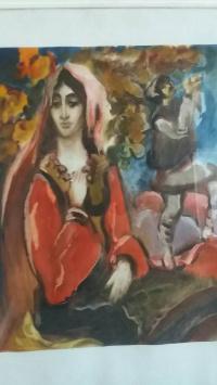 Портрет молдавской девушки