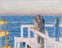 Pierre Bonnard. The Marina in Cannes