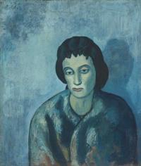 Женщина с чёлкой