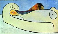 Пабло Пикассо. Обнаженная на пляже