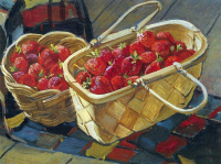 Still life. Strawberry