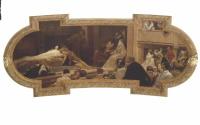 """Густав Климт. Театр """"Глобус"""" в Лондоне"""