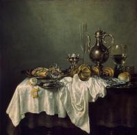Виллем Клас Хеда. Завтрак с омаром