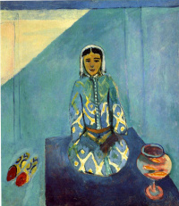 Henri Matisse. Zorah on the Terrace