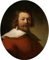 Портрет мужчины в красном камзоле