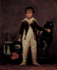 Portrait Jose Costa-and-Monalisa nicknamed Pepito