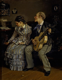 Illarion Mikhailovich Pryanishnikov. Cruel romances. 1881