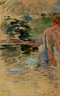 Swimming in Mesnil