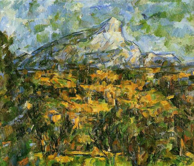 Пейзаж в Эксе, гора Святой Виктории (Гора Сент-Виктуар)