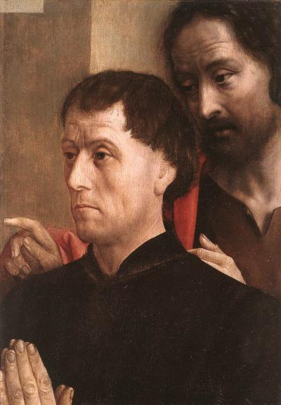 Портрет дарителя с Иоанном Крестителем