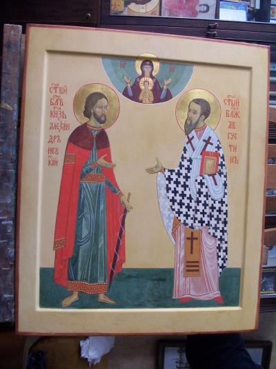 Александр Невский и блаженный Августин
