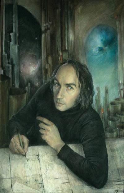 Portrait of composer Vladimir Guba