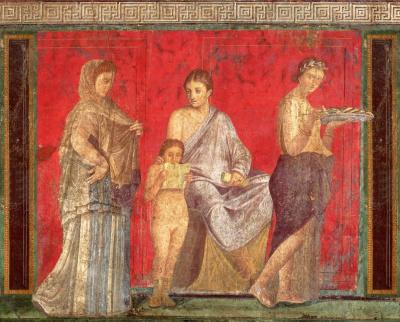 Вилла Мистерий, Помпеи