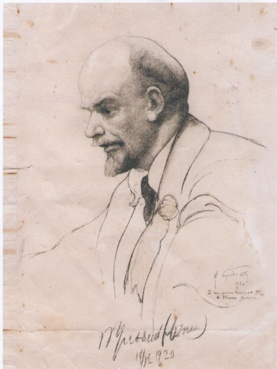 В.И. Ленин на ІІ конгрессе Коминтерна