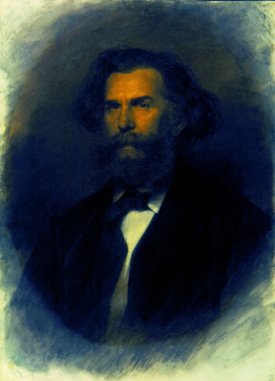 Портрет художника Алексея Петровича Боголюбова