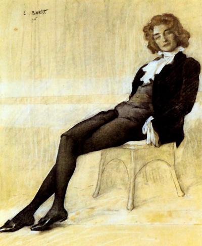 Портрет Зинаиды Гиппиус