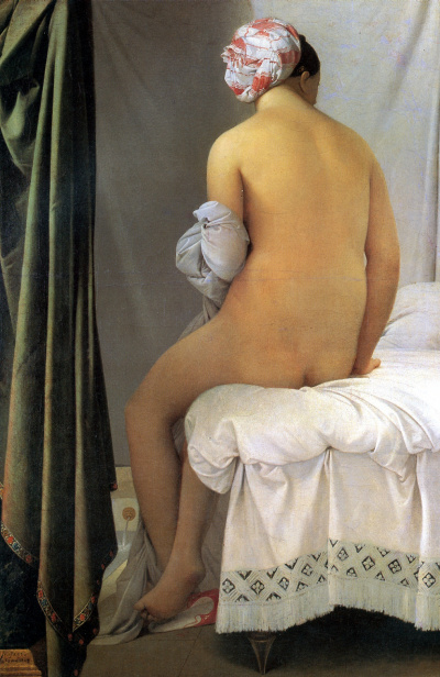 Seated bather (bather of Valpincon)