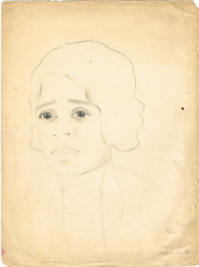 Portrait of the singer Henrietta Arles-TIC