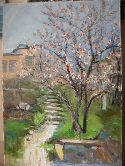 Весна в Алупке.