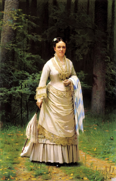Portrait Of Vera Nikolaevna Tretyakova