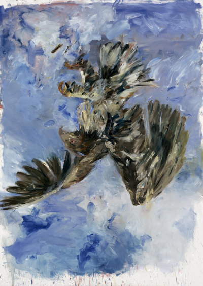 Finger Painting — Eagle