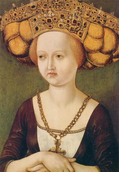 Портрет королевы Австрии