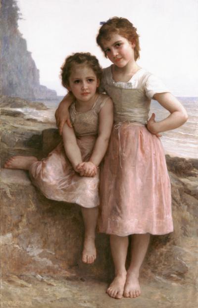 Две сестры на берегу