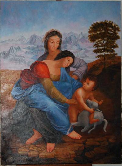 Святая Анна (копия)