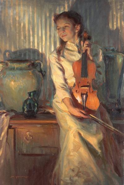 Violin her mother