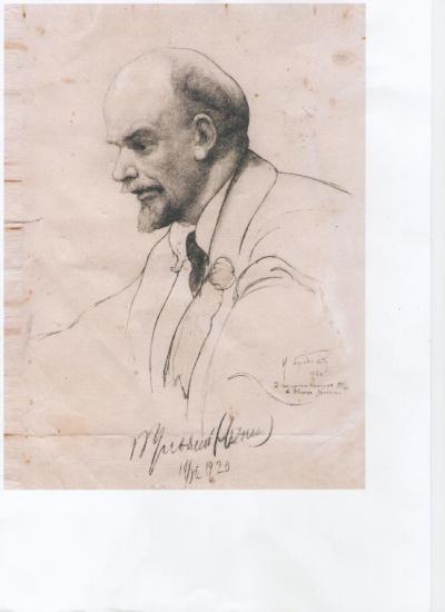 В.И.Ленин на 2-м конгрессе Коминтерна