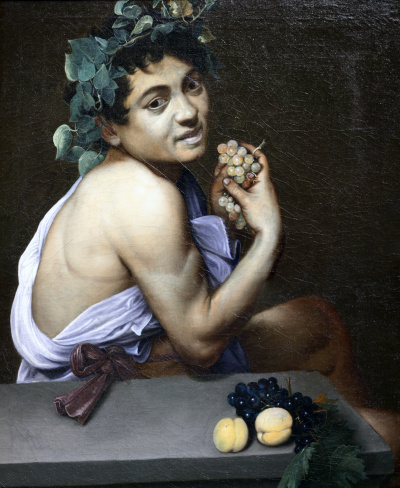 Sick Bacchus (Self-Mirror Image)