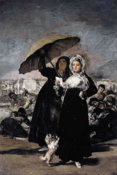 Девушки с зонтиком (Любовное письмо)