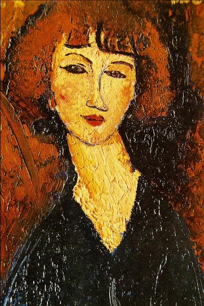 Молодая женщина из Монпарнаса