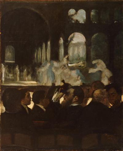 "The ballet scene from Meyerbeer's Opera ""Robert the devil"""